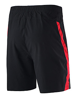 Arsuxeo Herre Shorts til jogging Fort Tørring Pustende Myk Lettvektsmateriale Refleksbånd Reduserer gnaging Shorts Bunner til Yoga &