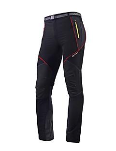 Nuckily Calças Elásticas para Ciclismo Homens Moto Meia-calça CalçasImpermeável Respirável Secagem Rápida Resistente Raios Ultravioleta