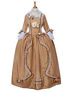 Cosplay Kostüme Prinzessin Cinderella Märchen Göttin Fest/Feiertage Halloween Kostüme einfarbig Kleid Halloween Karneval Silvester Frau
