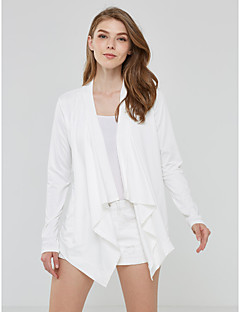 Spring  Fall Women's Go out Casual  Fashion Wild Solid V Neck long-sleeved cardigan Jacket