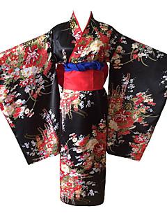 Cosplay Puvut Kimono Enemmän lisävarusteita Innoittamana Hell Girl Ai Enma Anime Cosplay-Tarvikkeet Kimono Vyö Muu materiaali Naiset