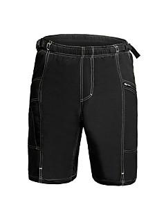 Jaggad Bermudas Acolchoadas Para Ciclismo Homens Moto Shorts largos Calças Ciclismo Elastano 100% Poliéster Sólido Ciclismo de Montanha