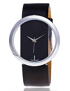 בגדי ריקוד נשים שעוני שמלה שעוני שלד שעוני אופנה שעון יד ייחודי Creative צפה שעונים יום יומיים Chinese קווארץ PU להקהאנימציה ממתק יום