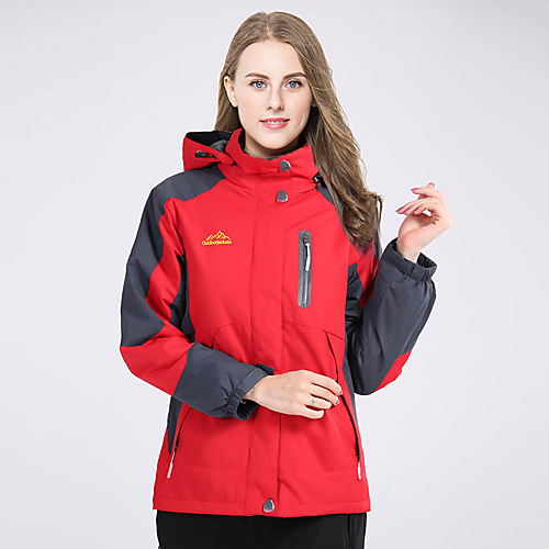 ac11abf67c429 Deshengren® Women's Hiking Jacket / Ski Jacket Outdoor Winter Windproof,  Waterproof, Thermal /