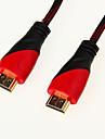 Cablu HDMI De Înaltă Viteză 1.4v Suport 3D pentru Smart LED HDTV, Apple TV, Blu-Ray DVD (1.5 m)