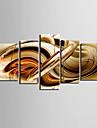toile set AbstraitCinq Panneaux Horizontale Imprimer Art Décoration murale For Décoration d'intérieur