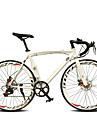 Velo Route Cyclisme 14 Vitesse 26 pouces/700CC 50mm Femme Aux femmes Unisexe Adulte SHIMANO TX30 Frein a Double Disque OrdinaireMono