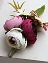Flori de Nuntă Formă liberă Trandafiri Butoniere Nuntă Petrecere / Seară Poliester Satin