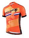 Miloto Maillot de Cyclisme Homme Femme Enfant Unisexe Manches Courtes Velo Chemise Shirt Maillot Sechage rapide Zip frontal Respirable