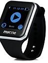 Smart klocka Video Kamera Ljud GPS Handsfreesamtal Meddelandekontroll KamerakontrollAktivitetsmonitor Sleeptracker Stoppur Tidtagarur