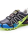 Bărbați Adidași de Atletism Confortabili PU Primăvară Vară Toamnă Iarnă De Atletism Casual Alergare DantelăAlbastru Închis Gri Verde