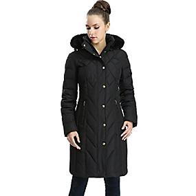 cheap -women's addi waterproof down parka coat black plus size 2x