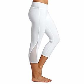 cheap -women pants weuie women skinny leggings patchwork mesh yoga leggings fitness sports pants