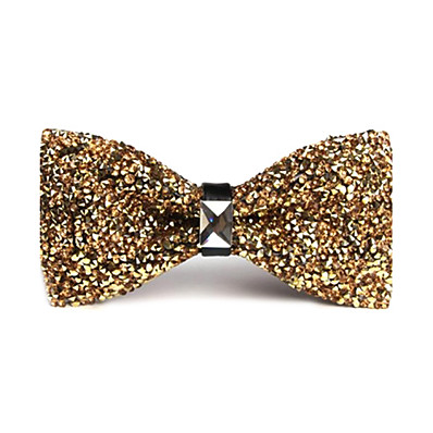 cheap Men's Accessories-Unisex Party / Work / Basic Bow Tie - Solid Colored