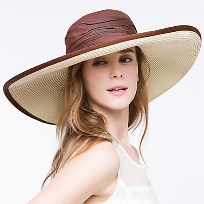 cheap Accessories-Women Casual Summer Straw Straw Hat