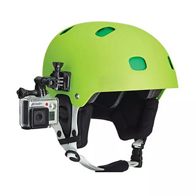 cheap Sports Action Cameras & Accessories  For Gopro-universal black a set helmet side video shoot installation accessories for camera gopro