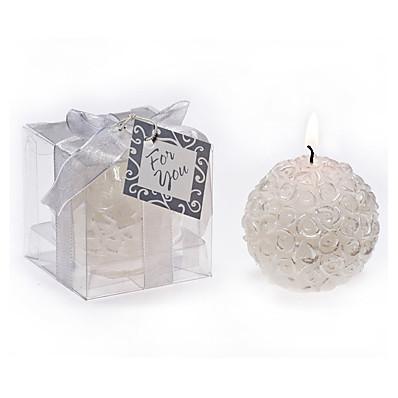 cheap NewIn-ADOR Beach Theme / Garden Theme / Vegas Theme Candle Favors - 1 pcs Candles / Candle Holders Gift Box