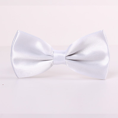 cheap Men's Accessories-Men's Party / Work / Basic Bow Tie - Solid Colored