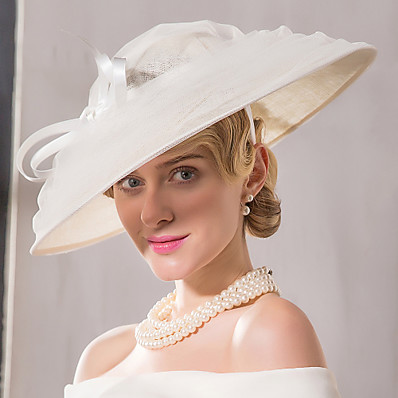 a8244ac8 ADOR Flax Net Headpiece-Wedding Special Occasion Casual Fascinators Hats 1  Piece