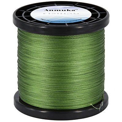 cheap Fishing-PE Braided Line / Dyneema / Superline 4 Strands Fishing Line 1000M / 1100 Yards PE 80LB 70LB 60LB Abrasion Resistant