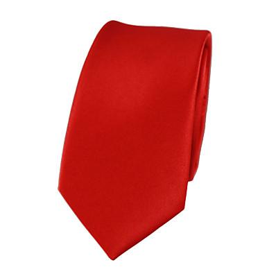 cheap Men's Accessories-Men's Party / Work Necktie - Solid Colored