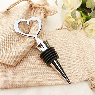 cheap NewIn-Christmas / Christmas Gifts / Wedding Eco-friendly Material / Metal Bottle Stoppers / Bottle Openers / Practical Favors Beach Theme / Garden Theme / Vegas Theme - 1 pcs
