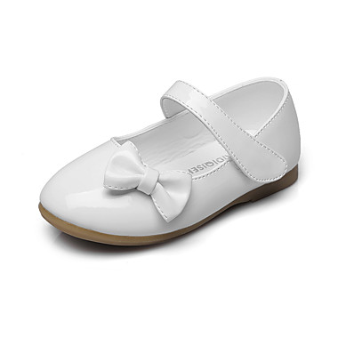 bd89bc8675d6 ADOR® Girls' Shoes Leatherette Spring / Fall Comfort / Flower Girl Shoes  Flats Bowknot / Magic Tape for Black / Red / Pink / Wedding