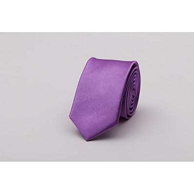 cheap Tuxedos & Suits-Men's Fashion Necktie - Solid Colored