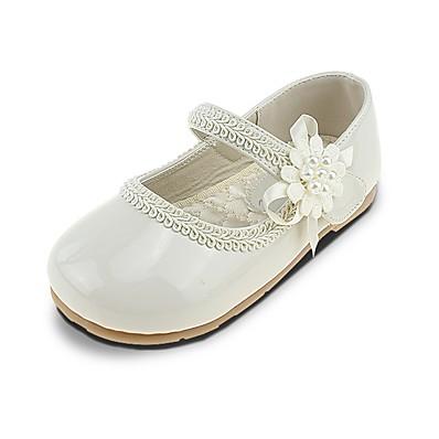 ADOR® Girls  Shoes Leatherette Spring   Summer Comfort   Flower Girl Shoes  Flats Imitation Pearl   Appliques   Magic Tape for Beige   Wedding 53321d31e378