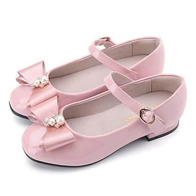 b2ae10e2182b ADOR® Girls  Shoes Patent Leather Spring Comfort   Flower Girl Shoes Flats  for Black   Blue   Pink