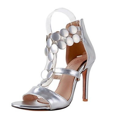 048e50d91579 ADOR® Women s Shoes PU(Polyurethane) Summer Gladiator Sandals Stiletto Heel  Open Toe Sequin Gold   Silver   Red   Party   Evening