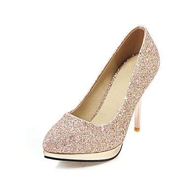 d25ce1f0dd ADOR® Women's Shoes Paillette Spring Comfort Heels Stiletto Heel Pointed  Toe Sequin Gold / Silver / Party & Evening