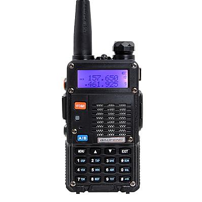 cheap Smart Home-BAOFENG 5RT 8W Handheld Dual Band 5KM-10KM 5KM-10KM Walkie Talkie Two Way Radio / 136-174MHz / 400-520MHz Intercom Small Radio Preofessional FM Transceiver