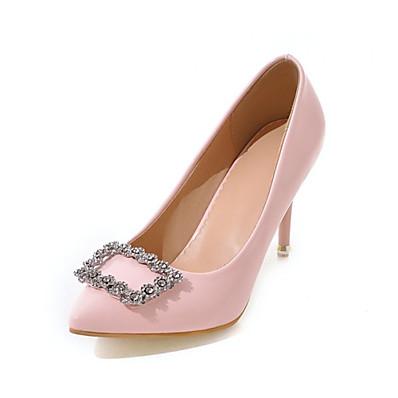 b641baa2042 ADOR® Women s Pumps PU(Polyurethane) Spring   Summer Heels Stiletto Heel  Pointed Toe Black   Red   Pink   Wedding   Party   Evening
