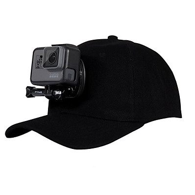 cheap Sports Action Cameras & Accessories  For Gopro-Bandanas & Hats Convenient Breathable Comfortable 1 pcs For Action Camera All Gopro Golf Traveling Back Country Cotton