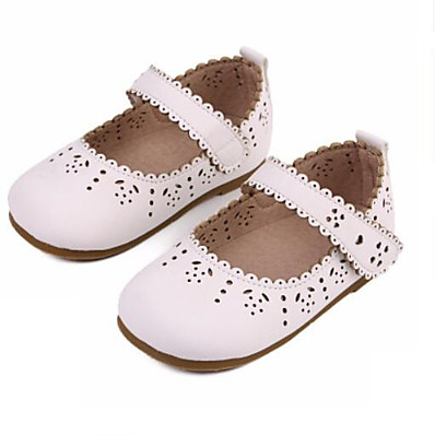ADOR® Girls  Shoes Synthetics Spring   Fall Flower Girl Shoes Flats  Hollow-out   Magic Tape for Kids   Toddler Brown   Red   Khaki d98e6ebe2660