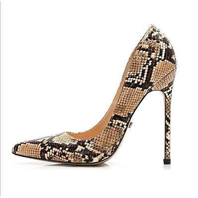 04930917215 Women s PU(Polyurethane) Spring   Summer Vintage   Casual Heels Stiletto  Heel Pointed Toe Gold