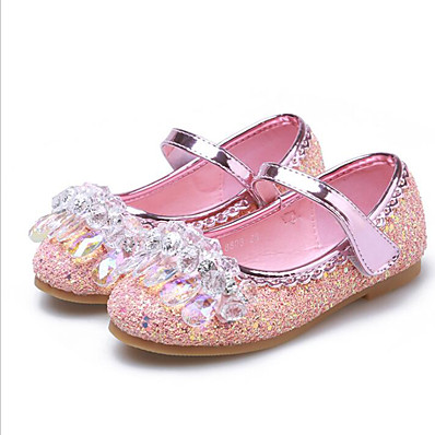 c7e5d22a9a1e ADOR® MRLOTUSNEE® Girls' Shoes PU(Polyurethane) Spring / Summer Comfort / Flower  Girl Shoes Sandals Bowknot for Kids / Toddler Silver / Blue / Pink ...