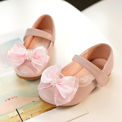 8d25fdf8742 ADOR® Girls  Shoes Synthetics Summer Flower Girl Shoes Heels Crystal for  Kids Silver   Blue   Pink   Peep Toe