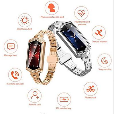 abordables Electronique Connecté-KUPENG B78 Femme Bracelet à puce Android iOS Bluetooth Imperméable Ecran Tactile Moniteur de Fréquence Cardiaque Mesure de la pression sanguine Sportif Podomètre Rappel d'Appel Moniteur de Sommeil