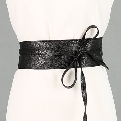 cheap NewIn-Women's Cute Wide Belt - Vintage
