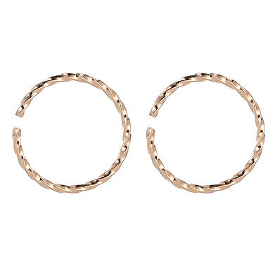 cheap ACCESSORIES-Men's Clip on Earring Coin Earrings Jewelry Gold / Silver For Street Holiday Festival 1 Pair