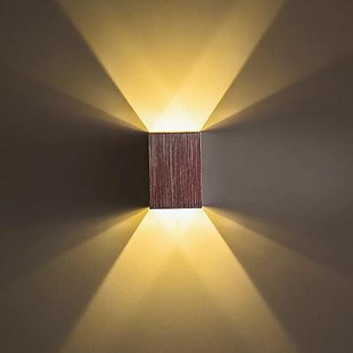 저렴한 실내 조명-창조적 멋진 단순한 전통적 / 클래식 벽 램프 실내 샵 / 까페 금속 벽 빛 IP44 85-265V 1 W