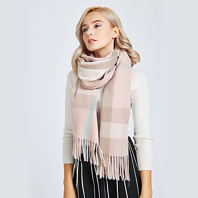 cheap ACCESSORIES-Women's Basic Rectangle Scarf - Color Block