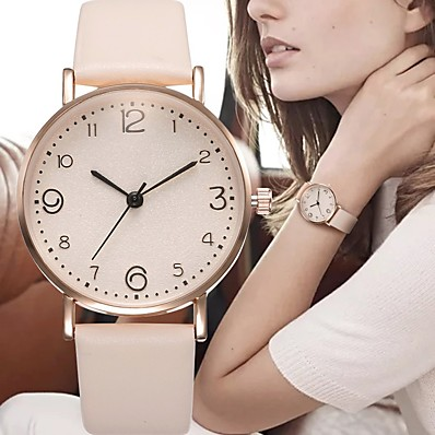 cheap Women's Watches-Women's Quartz Watches Analog Quartz Vintage Style Fashion Casual Watch / One Year / Stainless Steel / PU Leather