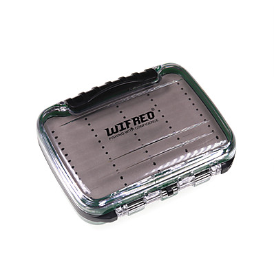 cheap Fishing-Flies Box Fishing Tackle Box Easy to Carry ABS