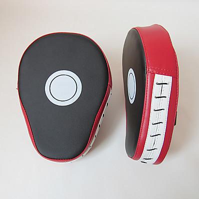 cheap Boxing & Martial Arts-Punch Mitts Boxing Pad For Taekwondo Boxing Sanda PU(Polyurethane) 1 pcs Red