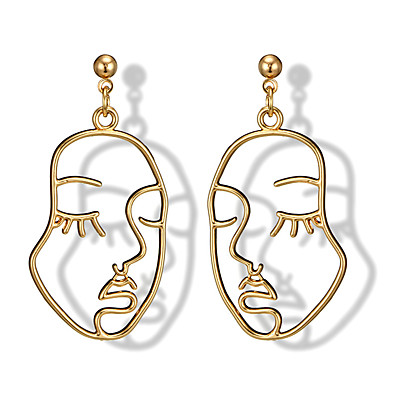 cheap Women's Jewelry-Women's Earrings Classic Mini Earrings Jewelry Gold For Christmas Party Anniversary Carnival Festival 1 Pair