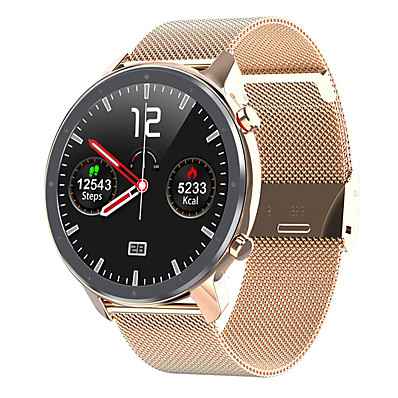 cheap Smart Electronics-L11 Bluetooth Fitness Tracker Support ECG+PPG/Heart Rate/Blood Pressure Monitor Smartwatch for Samsung/Iphone/Android Phones