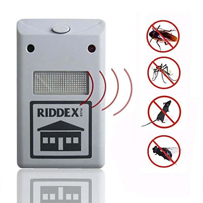 cheap Smart Home-Riddex Plus Pest Repellent Repelling Aid For Rodent Roaches Ants Spider Pest Repellent Electronic Ultrasonic Only Suitable for Europe